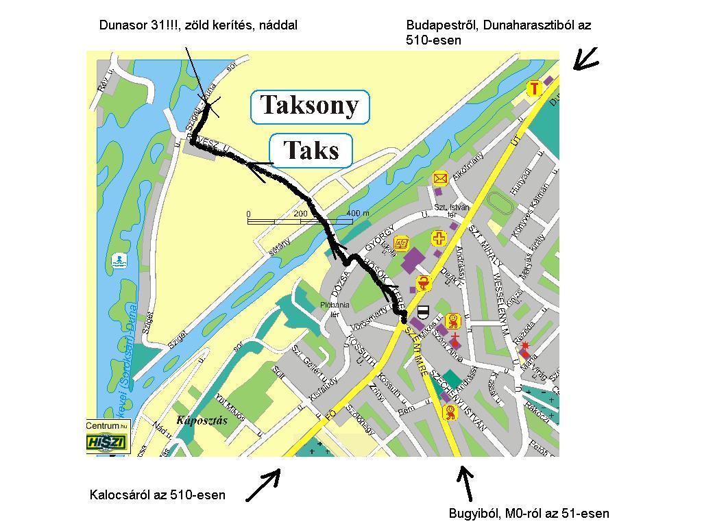 taksony térkép Biciklizés a fővárosban (vagy szmogtúra)   Index Fórum taksony térkép